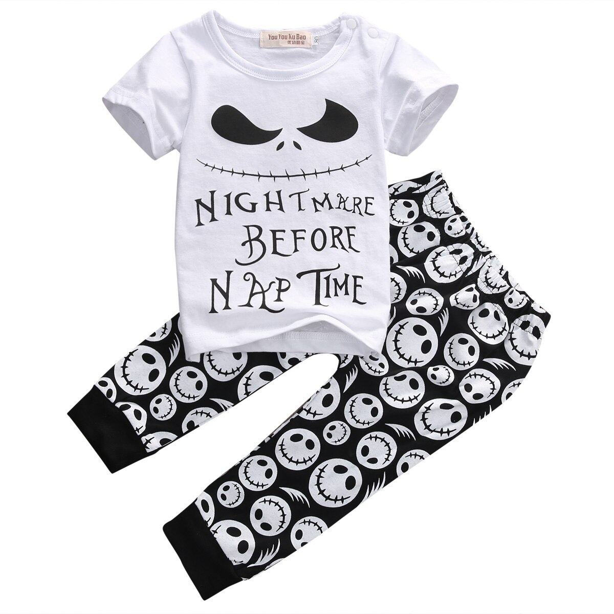Pudcoco Clothes For Boys T shirt And Leggings Baby Boys Clothes Summer Letter Pr - $10.39
