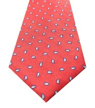 NEW MENS CLUB ROOM ESTATE NECKWEAR CLASSIC PINE RED PAISLEY SILK NECK TI... - $8.90
