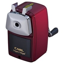 CARL A5RY-R Angel 5 ROYAL Pencil Sharpener Red New Japan - $43.63