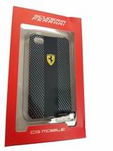 Ferrari Official Iphone 4 4s Scuderia Collection Black Hard Case Feschci... - $6.64
