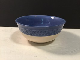 Paula Deen Southern Gathering Blue Bell Coupe Cereal Bowl Set of 4 Lovely - $40.78