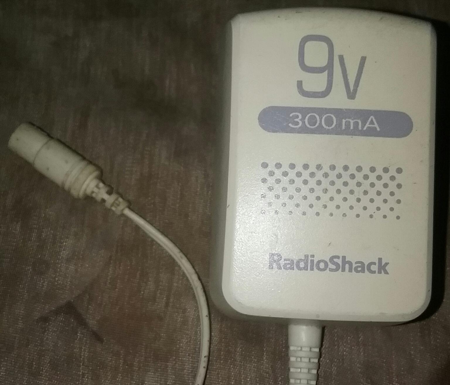 Radio Shack 273-1767 9 9V 300ma Power DC and 50 similar items