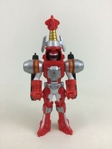 Power Rangers Operation Overdrive Red Turbo Drill Action Figure Bandai 2006 - $11.83