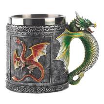 Hot Novelty Medieval 3D Dragon Mug Faucet Cup D... - $24.22