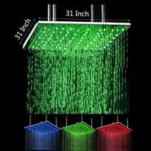 "Cascada Ceiling Mount Rainfall LED Shower Head, (include Shower Arm) 31""... - $1,088.99"