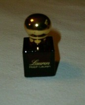 Ralph LAUREN Perfume Original Cosmair Red EDT 1/8 Oz Mini Vintage Rare - $29.69