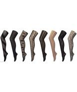 Women's Fancy patterned semi opaque Tights, One size 8-14 uk, 36-42 eu, ... - $6.64