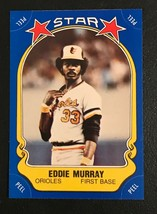 1981 Fleer Star Sticker Eddie Murray  Baseball Card #117 - $1.93