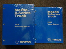 2008 Mazda B-Series Truck Service Repair Shop Manual Set Factory Feo Books New - $103.90