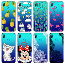 Cartoon Minnie Cat Phone Case FOR Huawei P Smart Case Soft TPU FOR Huawei PSmart - $13.95