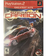 Need Pour Vitesse : Carbone ( sony PLAYSTATION 2, 2006) Testé - $12.59