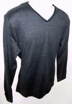 Calvin Klein Men's Long Sleeve V-Neck Pullover Deep Marble Size M - $24.31