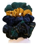 Time And Tru 5 Pack Scrunchies  For Hair Stylish Colors - $4.95