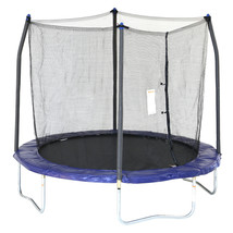 Skywalker Trampolines 8' Trampoline, with Safety Enclosure, Blue - $267.57