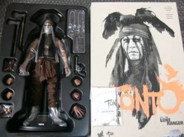 Hot Toys The Lone Ranger Tonto (Johnny Depp) 1/6 Scale Action Figure J72 - $339.99