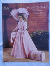 "1897 SPRING TRAVELING DRESS Paradise Crochet 11 1/2"" Doll Costume Patter... - $9.41"