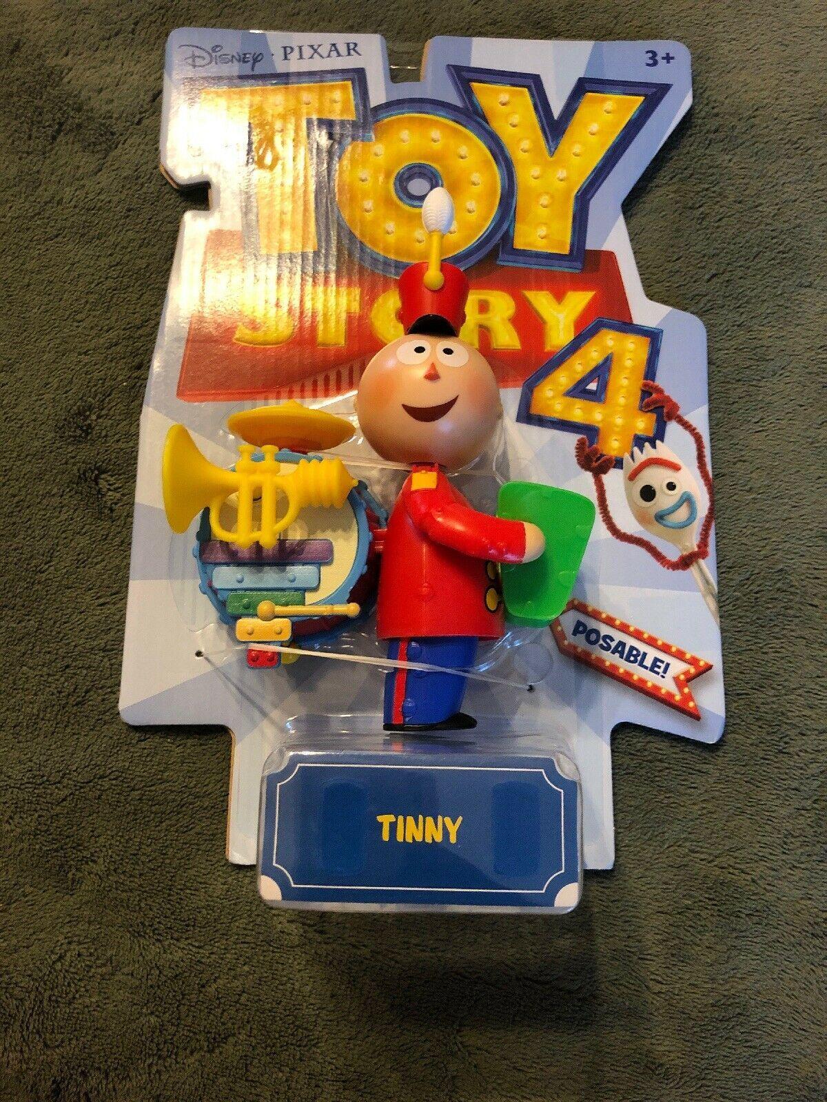 "Toy Story 4 Tinny Figure Disney Pixar 2019 Action Figure Poseable 6"" Inch"