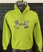 Under Amour Hoodie Sweatshirt  Lime Green Boys Youth M - $12.99