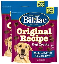 Bil-Jac Original Recipe Dog Liver Treats 10 oz, 2 Pack