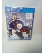 NHL 17 Hockey Play Station 4 PS4 Video Game EA Sports Brand New SEALED Sale - $9.90