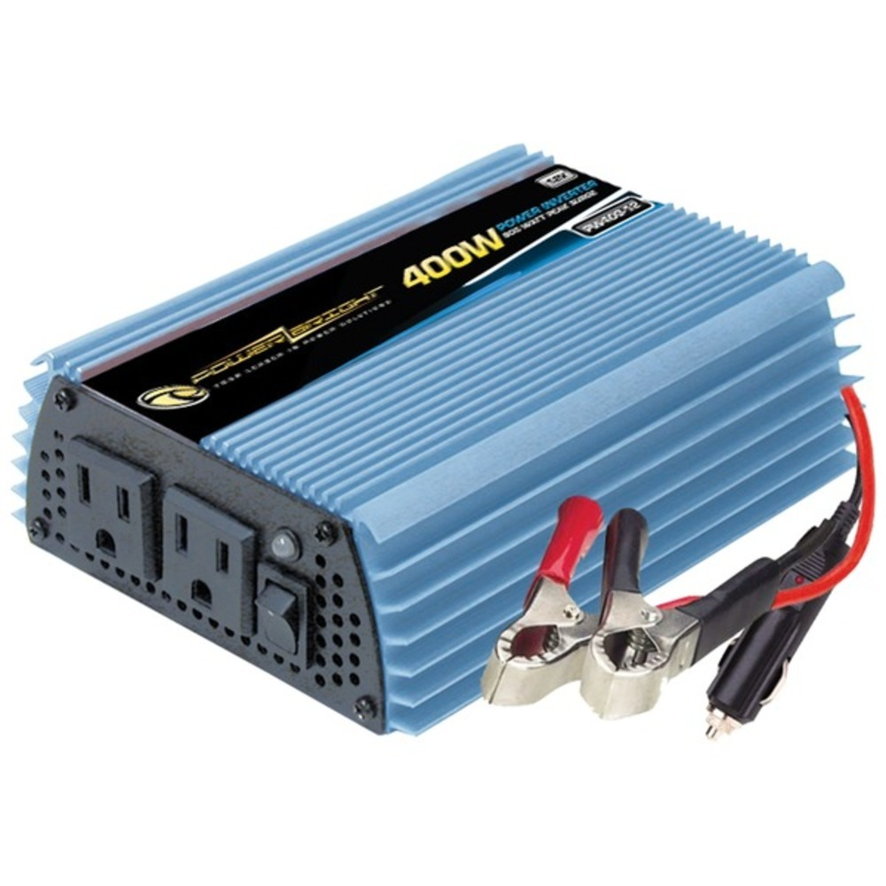 Primary image for PowerBright PW400-12 12-Volt Modified Sine Wave Inverter (400 Watts)
