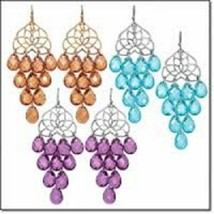 Avon Fall into Color Chandelier Earrings - $14.00