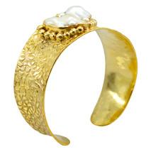 Multi Gold Plated Glass fascinating Multi Gemstone casually Bangle AU gift - $20.45