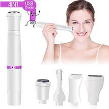 Veru ETERNITY Hair Removal for Women, 4 in 1 Hair Remover Includes Facial Shaver
