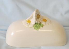 Metlox Poppytrail Sculptured Daisy Quarter Pound Butter, LID ONLY - $19.69