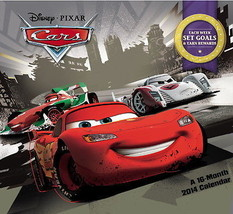 Walt Disney Pixar Cars Movies 16 Month 2014 Wall Calendar, NEW SEALED - $14.27
