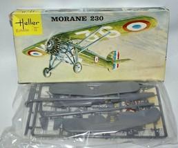 Vintage 60's HELLER 1:72 MORANE 230 WWII French Fighter Jet Plane Model ... - $12.00