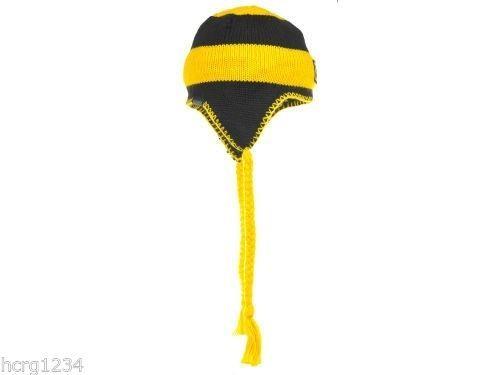 Missouri Mizzou Tigers Columbia Sportswear NCAA Knit Braided Tassel Hat/Beanie