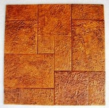 12 MOLD SET MAKES 100s of CONCRETE TILES @ $0.30 SQ. FT. IN OPUS ROMANO PATTERN image 1
