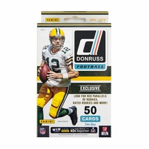 2016 PANINI Donruss Football 50 ct Hanger Box Pack Wentz & Prescott Rookies - $10.49