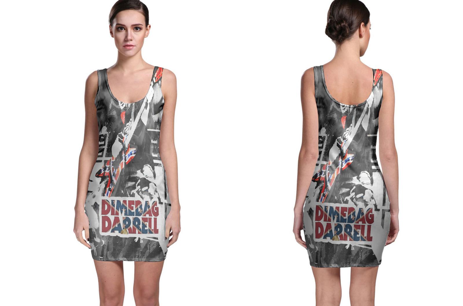 DIMEBAG DARRELL Bodycon Dress