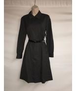 Liz Claiborne Dress Womens Size 4 Charcoal Gray Wear to Work NWT $149 - $77.40