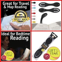 Best Reading Light for Books in Bed - Gifts for Book Lovers Bright Power... - $11.38
