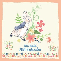 Peter Rabbit Flower Market Large Square 2020 Calendar - $13.14