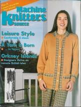 Machine Knitters Source Jan Feb 1997 Magazine Leisure Style Patterns & More - $4.27