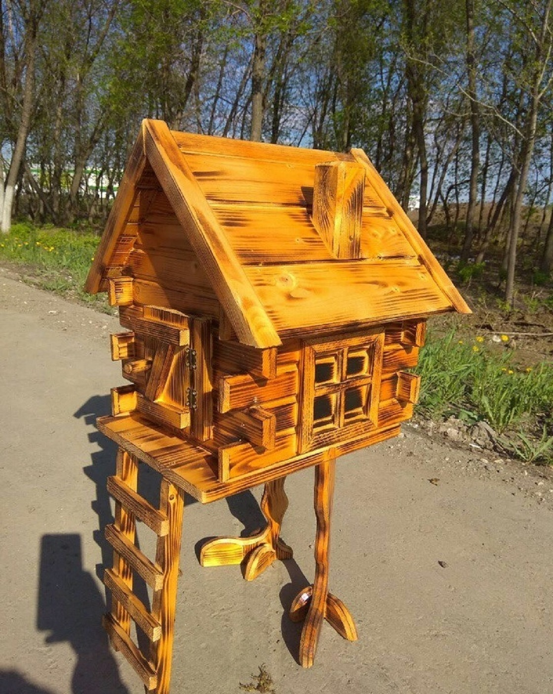 """The hut on chicken legs,""""the House of BABA YAGA"""""""