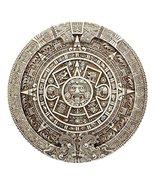 Ebros Mexica Aztec Solar Xiuhpohualli & Tonalpohualli Wall Calendar Scul... - $35.63