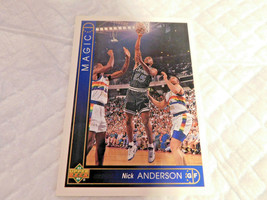 1993 Upper Deck,Orlando Magic,Basketball #269(Nick ANDERSON) - $4.95