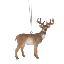 """WHITE-TAILED DEER Christmas Ornament, 3.5"""" Tall - $24.00"""