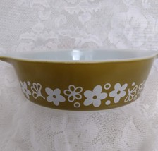 Pyrex, Casserole Dish, Spring Blossom pattern, model 471, one pint - $12.00