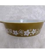 Pyrex, Casserole Dish, Spring Blossom pattern, model 471, one pint - $12.00
