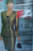 Vogue 8559 Sewing Pattern Jacket Skirt Size 12 14 16 Vintage - $8.99
