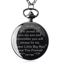 Samuel to My Son - Love MomLove Dad from Mother to Son Gifts Pocket Watc... - $28.19