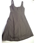 J.Crew Silk Brown Sleeveless Sz 8 Wedding Cocktail Party Bridesmaid Dres... - $59.39