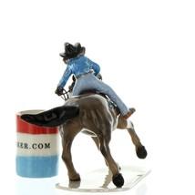 Hagen Renaker Horse Rodeo Barrel Racer Ceramic Figurine image 4