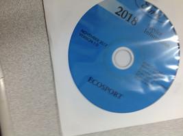 2018 Ford ECOSPORT Service Shop Repair Workshop Information Manual CD New - $277.15